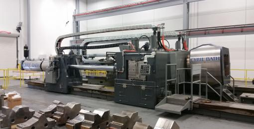 Extrusion stretch straightening and forming machine